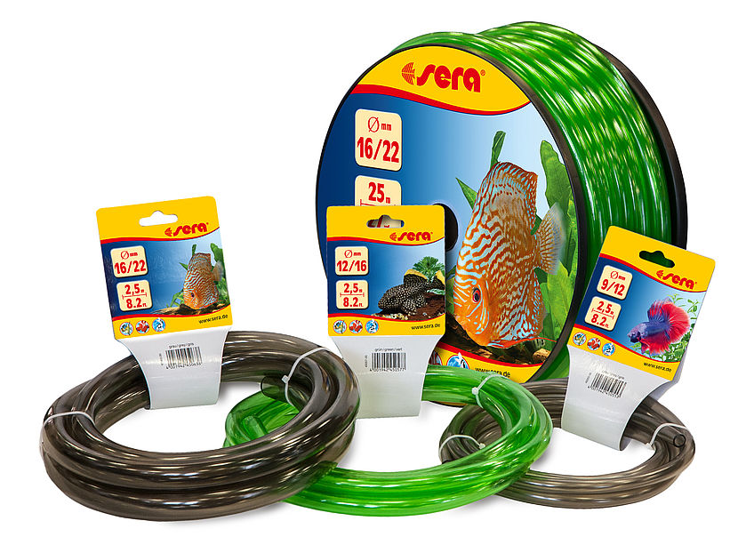 Available from now on: new sera hoses and accessories
