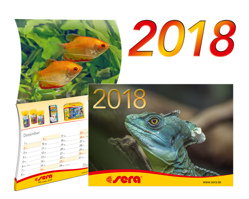 sera Calendar 2018 is available now