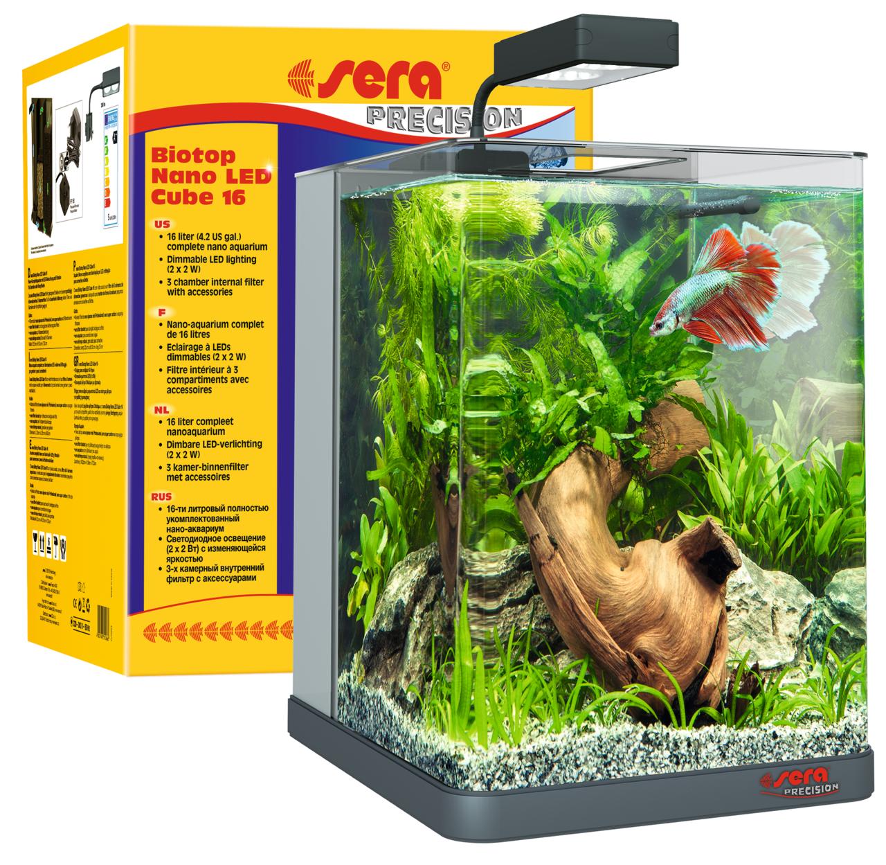 Best aquarium met led verlichting ideas for Sera aquarium